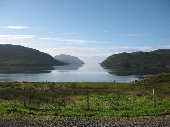 Loch Seaforth House B&B : silence of the hebridean super midge!super