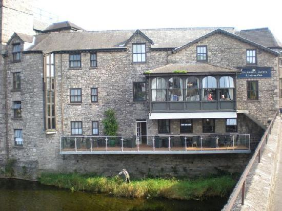 Kendal, UK: View from the bridge