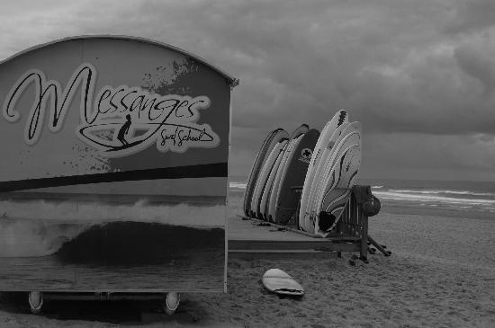 Messanges surf school: direct on the beach