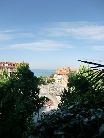 Hotel Fonzari: Unser Ausblick
