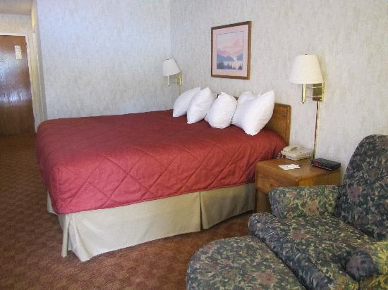 Ramada Limited Maggie Valley: The bed