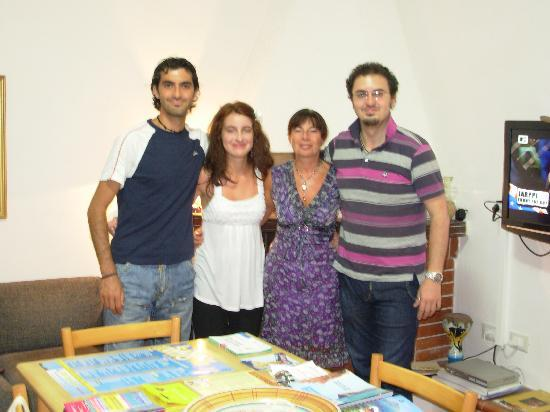 B&B Sigiuma : Foto con Giuseppe e Maurizio