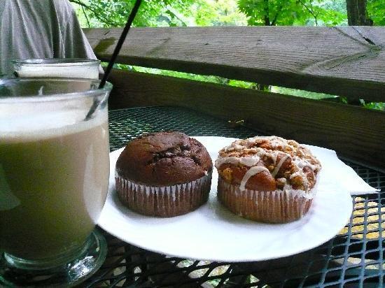 Seneca Shadows: muffins at coffee shop