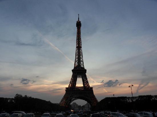 Paris, France: Eiffelturm