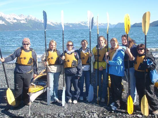 Seward, AK: Students Kayaking