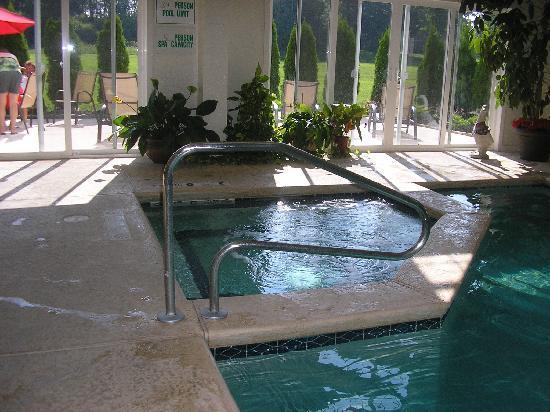 Webbs Year Round Resort : Indoor pool & hot tub