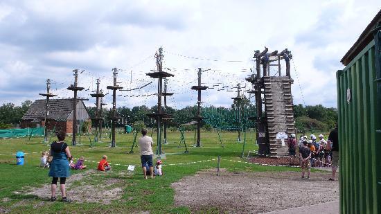 Südsee-Camp: High Ropes