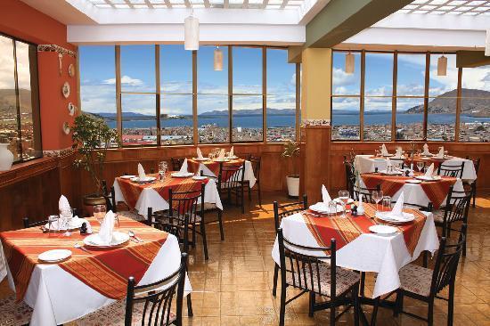 Hotel Qalasaya: RESTAURANTE VISTA AL LAGO