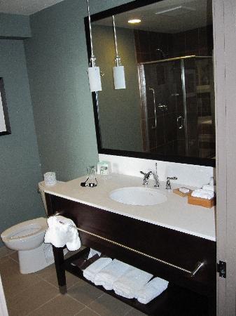The Coho Oceanfront Lodge: Bathroom