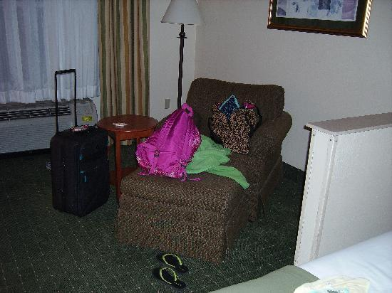 Holiday Inn Express Orlando Airport: nice lounge chair.