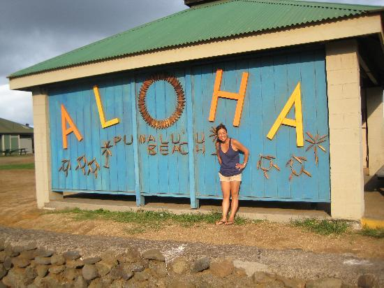 Kailua-Kona, Hawaï: a great pic at the beach!