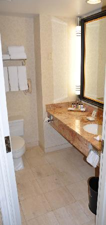 The Mayflower Hotel, Autograph Collection : bathroom counter