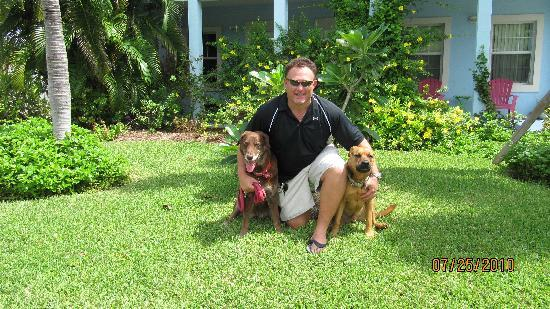 The Grandview Condos Cayman Islands: Thanks Max & the pups!