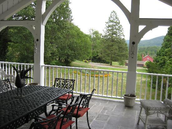 Mountainville, estado de Nueva York: The verandah
