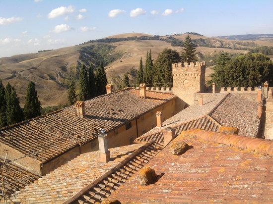 Trattoria Albana: View from the villa