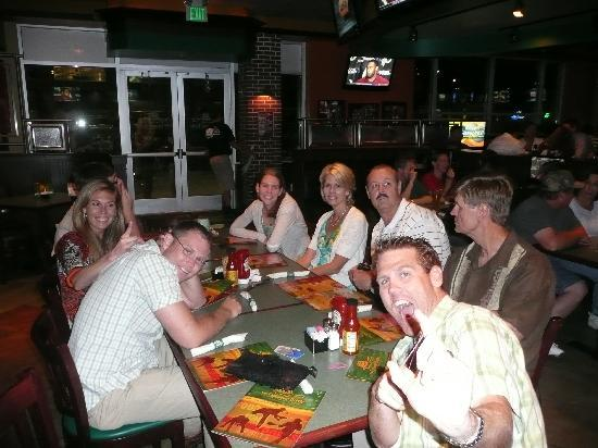 The Greene Turtle: late night group meal