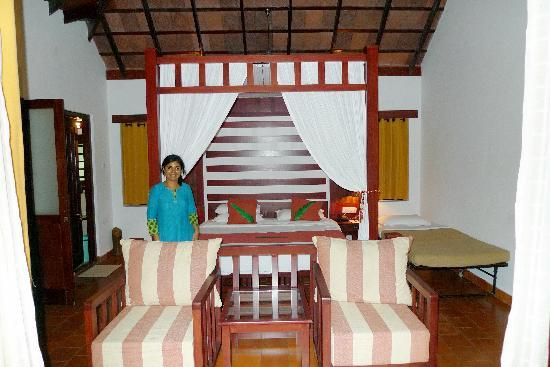 Vythiri Resort: Rooms - tastefully done up