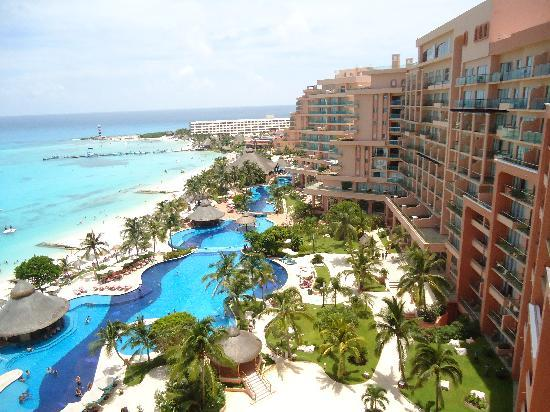 Grand Fiesta Americana Coral Beach Cancun: view from our room
