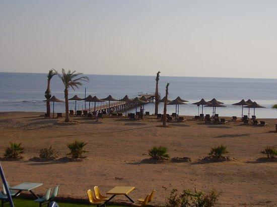 Paradise Beach Resort : spiaggia + pontile
