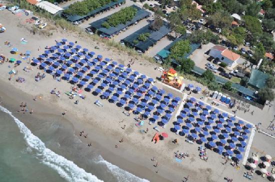 Ascea, Italie : spiaggia elea