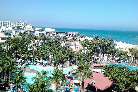 Playasol Spa Hotel: vista desde la habitacion