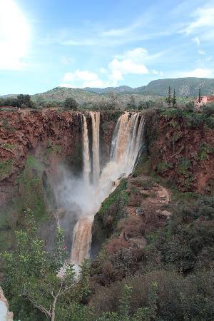 Marrakech, Morocco: Wasserfälle in der Nähe von Marrakesch
