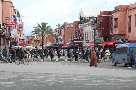 Marrakech, Morocco: Innenstadt