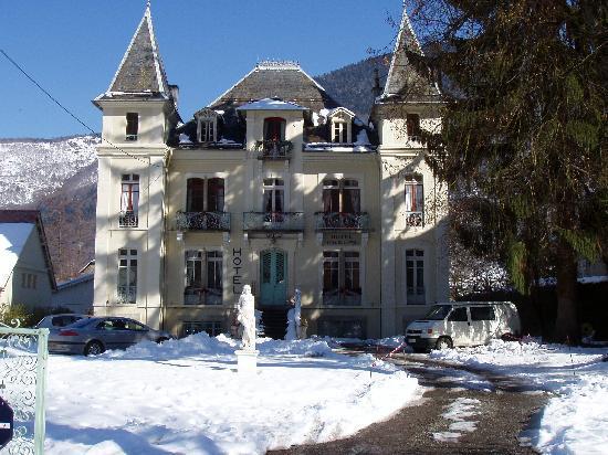 Hotel Castel de la Pique : Le Castel en hiver