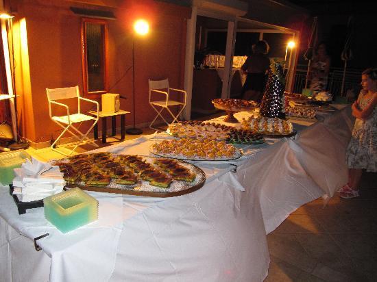 Giovanna Regina Hotel: Festa di Ferragosto sul terrazzo