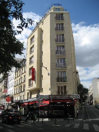 chat noir design hotel side picture of hotel le chat noir paris tripadvisor. Black Bedroom Furniture Sets. Home Design Ideas