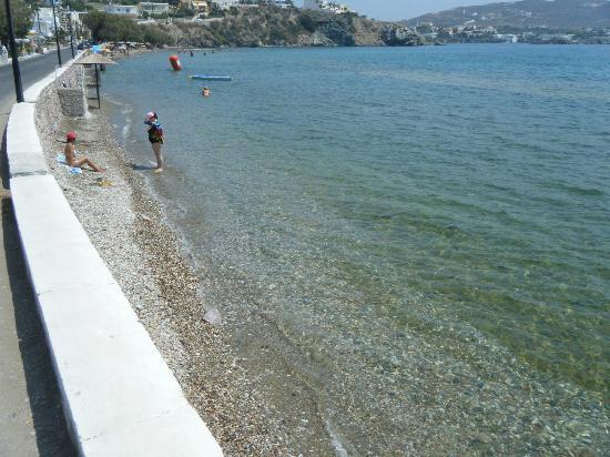 Cyclades Hotel: The liveliest beach