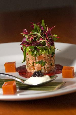 Porthleven, UK: sea trout tartare