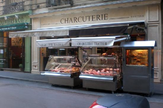 París, Francia: yummy rotisserie chicken