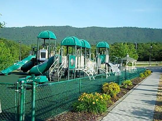 Playground Next To Big Pool Picture Of Massanutten