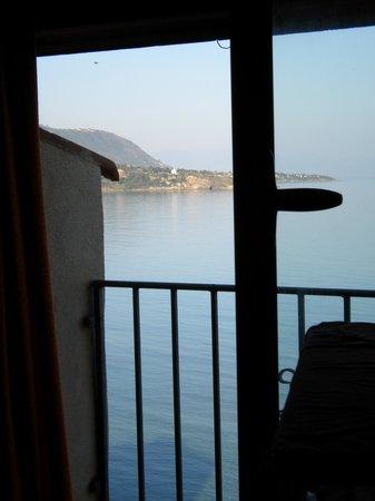 Der Blick aus dem Fenster im La Fenice