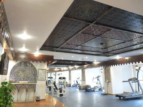 Shepheard Hotel: The gym