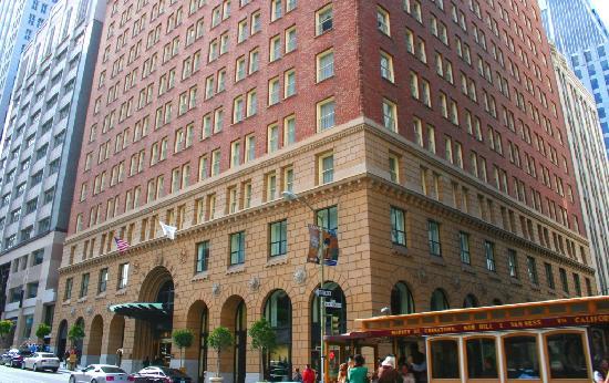 Omni San Francisco Hotel: Hotel