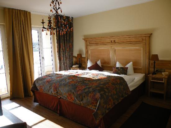 Ampervilla Hotel : Unser geschmackvolles Zimmer
