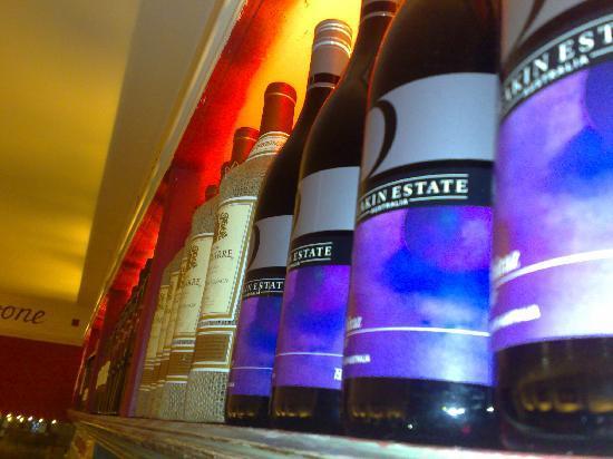 La Fontana Italian Restaurant: a fine selction of wine
