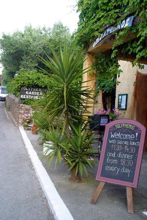 Polyphemus Restaurant: Pensez à réserver, surtout en été !