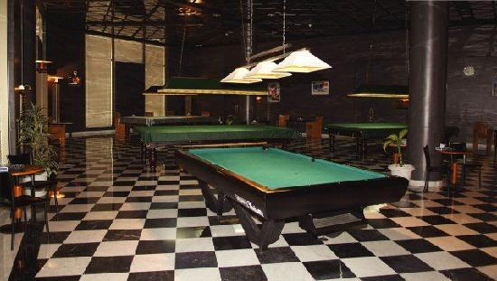 Armed Forces Officers Club & Hotel: billiards