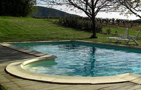 Le Mas de Rabaste : la piscine