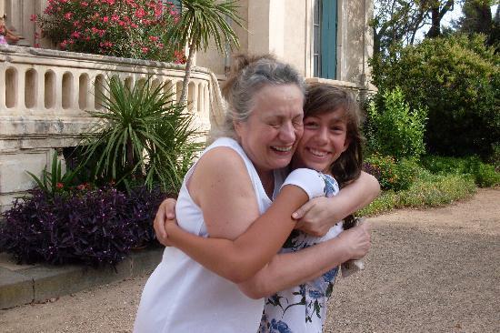 Quarante, Frankreich: Nicole et moi