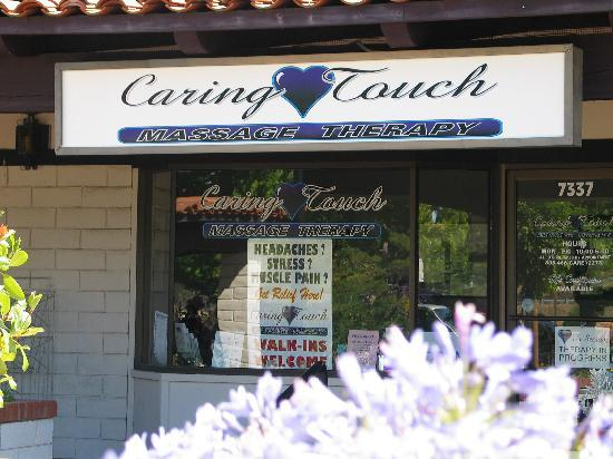 Caring Touch Massage Therapy: Store Front