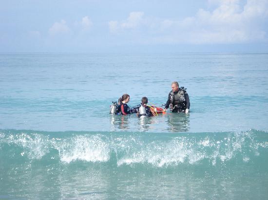 Florida Underwater Sports: open water day!
