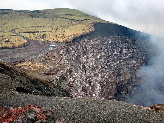 Hotel Mozonte: Masaya Volcano