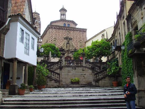 Buildings and streets in the Poble Espanyol