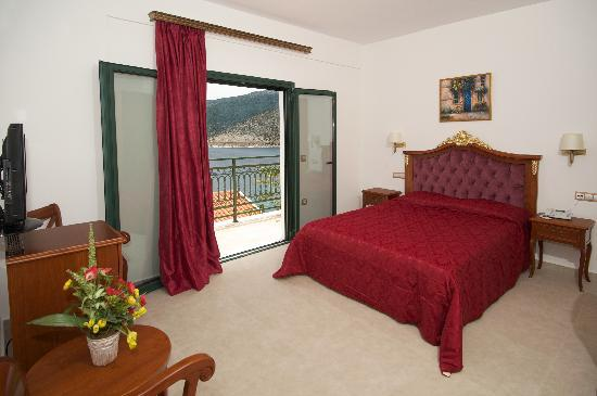 Agia Efimia, Greece: great lux room with magnificent sea view!