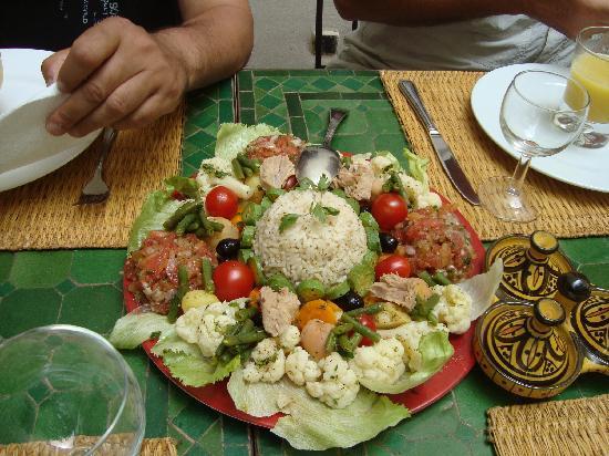 Riad Dar Dialkoum : une cuisine typique de charme