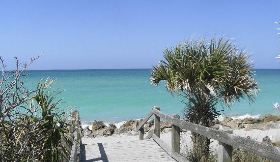 Venice, فلوريدا: Casperson Beach in Venice FL